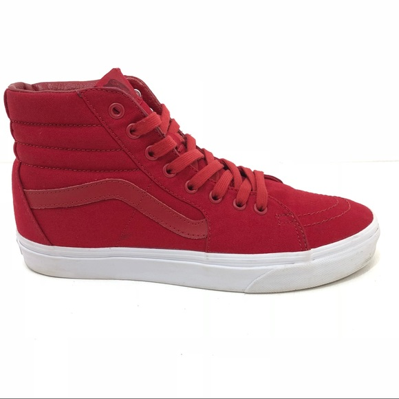 5921e45f5d32 Vans SK8 Hi Reissue Mono Canvas Chili Pepper. M 5b55f9085fef3745cd811414